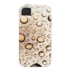 Golden drops iPhone 4 case