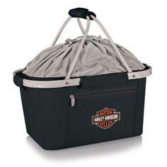 Picnic Time Harley-Davidson Collapsible Metro Basket Tote $49.99