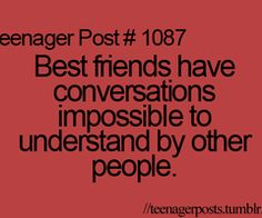 53 Trendy Ideas Funny Quotes For Teens Bff Friendship Teenager Posts Teenager Quotes, Teen Quotes, Bff Quotes, Best Friend Quotes, Teenager Posts, Friendship Quotes, Funny Friendship, Teen Posts, Famous Quotes