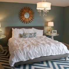 Blue Master Bedroom Bedding