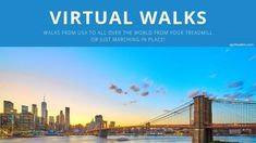 Virtual Walks across USA and all over the world! You can use with your treadmill or just stepping in place indoors. Virtual Run, Virtual Field Trips, Virtual Travel, Virtual World, Race Training, Training Equipment, Marathon Training, Walking Exercise, Walking Workouts