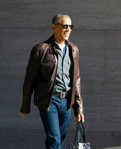 Former President Barack Obama leaves the National Gallery of Art in Washington, Sunday, March 5, 2017. President Donald Trump has turned increasingly critical of Obama since Obama returned from a vacation after leaving office.