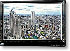 Tokoyo Acrylic Print By Holley Jacobs