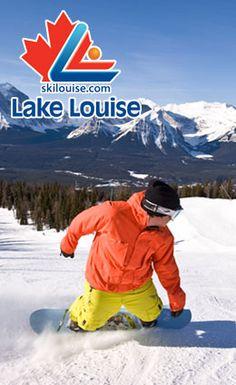 The Lake Louise Ski Area