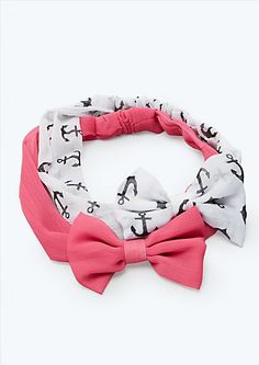 Anchor Bow Headbands | Hair Accessories | rue21