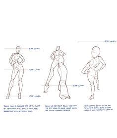 Drawing the human figure | Drawing in Photoshop via PinCG.com