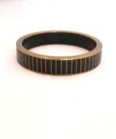 Bracelet vintage en laiton de la boutique Imodivintage sur Etsy