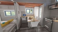 See The New Tiny House That Expands With the Push of a Button