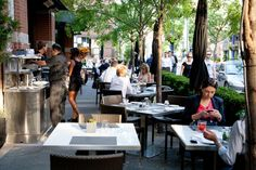 The best patios in Toronto are where you can take it all in and bask in the sunshine as you sip your beverage of choice. Known for having fantastic. Toronto, Real Estate, Restaurant, Good Things, Yummy Yummy, Beverage, Sunshine, Courtyards, Real Estates