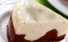 Torta de creme e chocolate