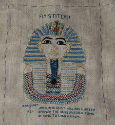 fly stitch King Tut