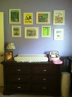 Book themed nursery.