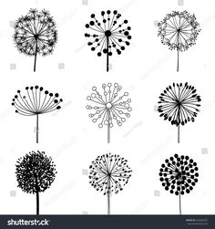 stock-vector-floral-elements-for-design-dandelions-eps-vector-illustration-162682307.jpg 1,500×1,600 pixels