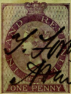 "Inland Revenue Stamp. 13.167""x17.125"""