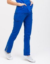The Moto Pant - Royal Blue