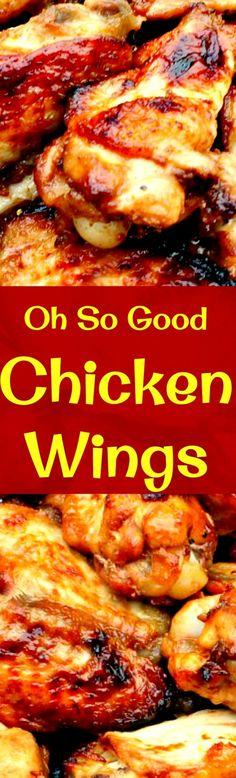 Oh So Good Jack Daniels Chicken Wings : lovefoodies