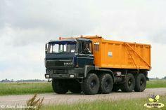 Ginaf 8x8 dump truck