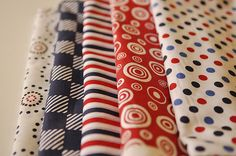 How to make a fabric pennant banner!