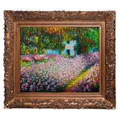 Add museum-worthy appeal to your living room or study with this eye-catching framed canvas print of Pierre-Auguste Renoir's Discarded Roses. ...