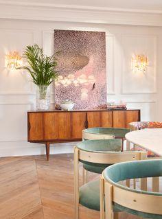 El comedor privado para 12 comensales de #casadecor dispone de nuestra #cocina #aurosol para equipar al #chef #fernandodelcerro #diseño #interiorismo #decoración #madrid