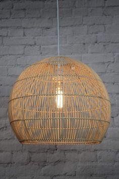 Meadowbrook Rattan Pendant Light   Fat Shack Vintage