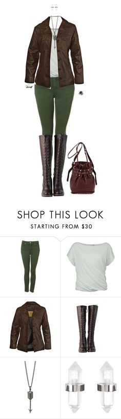 """Brown and Green Leather"" by daughter-of-apollo92 ❤ liked on Polyvore featuring Noted*, STS Ranchwear, DimeCity, Simon Carter, Amber Sceats, Alexander Wang, leatherjacket and leatherjackets"