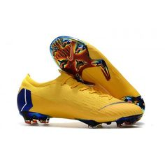 087bd21158c2 Authentic Nike Mercurial Vapor Fury XII Elite FG Mens Football Boots -  Yellow/Purple, offer you high quality, to be distributed all over the world.