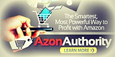 Azon Authority Review   Have you seen the sale video on YouTube about the Azon Authority Review? It is a great tool to open an e-commerce store and if you want an Amazon store!   Hi There! Don't Try Another Program Until You Have Read This! Have a read and let me know your thoughts ;) Wishing 4 Your $ucce$$