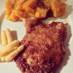 Escalope de veau panée au curly et potirons aux épices - Breaded veal escalope with curly and pumpkins with spice #veau #curly #potiron #panure #cuisine #food #homemade #faitmaison #yummy #cooking #eating #french #foodpic #foodgasm #instafood #instagood #yum #amazing #photooftheday #sweet #dinner #fresh #tasty #foodie #delish #delicious #foodpics #eat #hungry #foods #français #platprincipal #salé