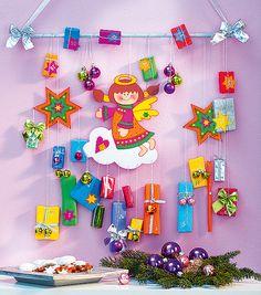 Kleine Mädchen werden diesen Adventskalender lieben! (Mit Anleitung und kostenlosen Bastelvorlagen)
