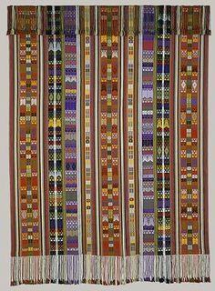 Textile Mantle, 1998 Martin Rakotoarimanana (Malagasy, born 1963) Madagascar Silk; 108 x 70 1/8 in. (274.3 x 178.1 cm)