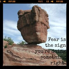 #inspiration #quote #fear