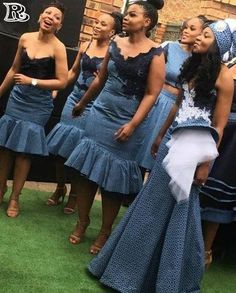 Traditional African clothing & shweshwe dresses 2019 Traditional African clothing & shweshwe dresses All a babe needs is an commodity of Traditional African clothing with the appropriate Sotho Traditional Dresses, South African Traditional Dresses, Traditional Wedding Attire, Traditional Outfits, South African Dresses, African Bridesmaid Dresses, Latest African Fashion Dresses, African Attire, African Print Wedding Dress