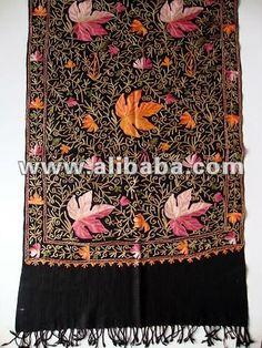 Kashmiri Embroidery Shawls On Pashmina Wool , Find Complete Details about Kashmiri Embroidery Shawls On Pashmina Wool,Embroidery Pashmina Shawls from Apparel Design Services Supplier or Manufacturer-Ganpati Fashions Kashida Embroidery, Wool Embroidery, Embroidery Designs, Textile Patterns, Textiles, Pashmina Wool, Kashmiri Shawls, Dress With Shawl, Cashmere Shawl