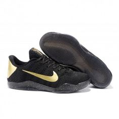 best sneakers 65c0a 142bb The cheap Authentic Nike Kobe 11 Elite Low Black Mamba Pack Gold Black  Shoes factory store are awesome pair of shoes but it seems the super high  top design ...