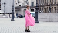 """killing-villaneve: """" Pretty In Pink xx """"Killing Eve Tulle Dress, Pink Dress, Pretty In Pink, Jodie Comer, Celebrity Style Inspiration, Film Aesthetic, Brown Girl, Style Icons, Celebs"""