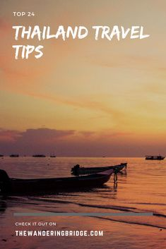 Top 24 Thailand travel tips for all travelers to know before heading to Thailand for the first time. #Travel #Thailand