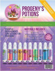 Progeny's Potions Make & Take Workshop Kit - roller bottles - 1