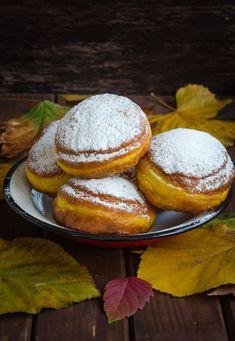 Jacque Pepin, Baked Pumpkin, Doughnuts, Hamburger, Muffin, Bread, Breakfast, Cake, Brot