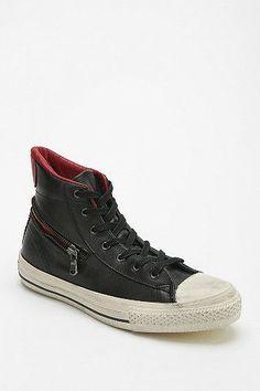 Trendy Women's Sneakers : Converse X John Varvatos High/Low Leather Women's  High-Top Sneaker.