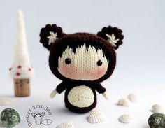 "Купить Мастер-класс ""Маленькая куколка Мишутка из серии Tanoshi"" - мастер-класс, описание, куколка"
