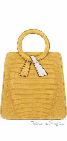 Gilbert Halaby ~ Maze Leather Handbag