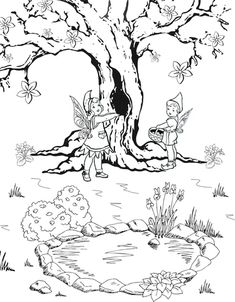Free Printable fairy coloring pages. Fun and adorable coloring pages for fairy lovers. Fairy Coloring Pages, Free Coloring Pages, Wild Flowers, Free Printables, Fairy Tales, Moose Art, Images, Toys, Fun