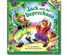 Jack and the Leprechaun by Ivan Robertson, Katy Bratun (Illustrator). St. Patrick's Day books for kids.  http://www.apples4theteacher.com/holidays/st-patricks-day/kids-books/jack-and-the-leprechaun.html