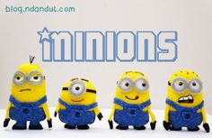 ndandut's corner: Tutorial Boneka flanel Minions - would need to make much larger as i have no patience for little things like this