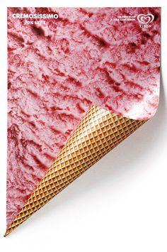 Kibon ice cream posters by Renata El Dib via Plenty of Colour