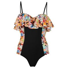 Ladies Womens Official Disney Tsum Tsum Swimsuit Swimming Costume in Clothes, Shoes & Accessories, Women's Clothing, Swimwear | eBay
