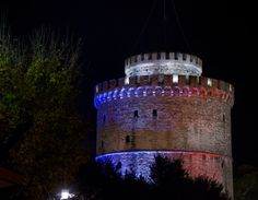 Pin for Later: Cities of the World Pay Tribute to Paris Following the Recent Terrorist Attacks Thessaloniki, Greece