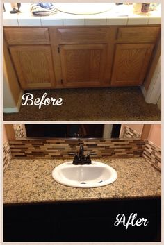 Before And After Diy Bathroom Remodel