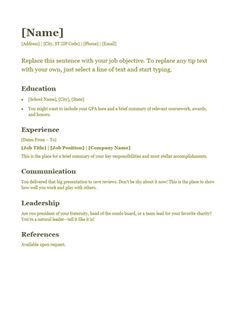 Resume Templates For Visual Resumes  The Muse  Work And Writing